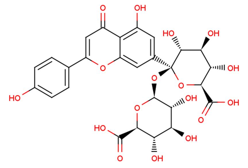Apigenin-7-diglucuronide