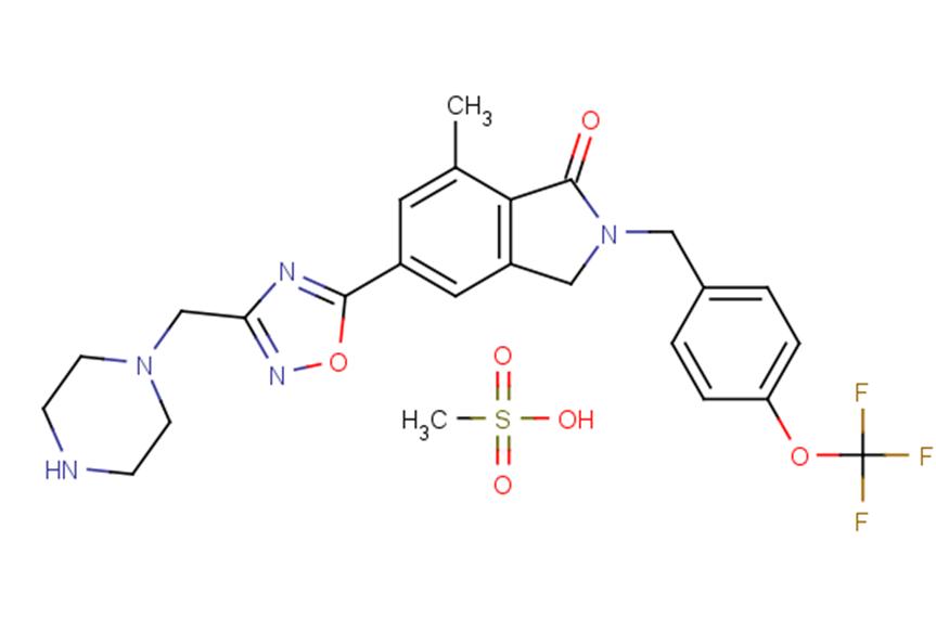 AZD-8529 mesylate
