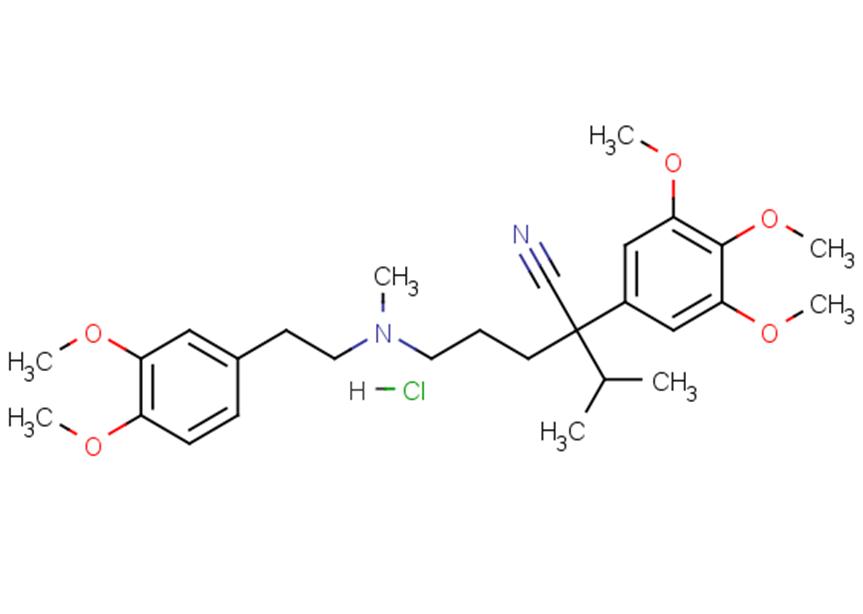Gallopamil hydrochloride