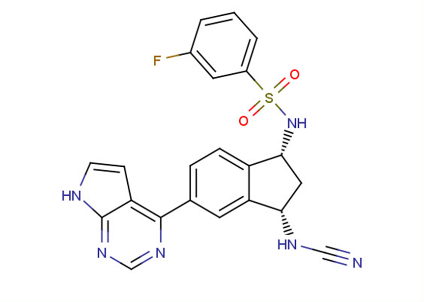 JAK3 covalent inhibitor-1