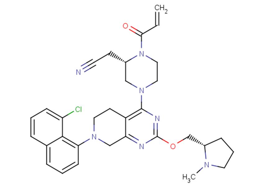 KRas G12C inhibitor 3
