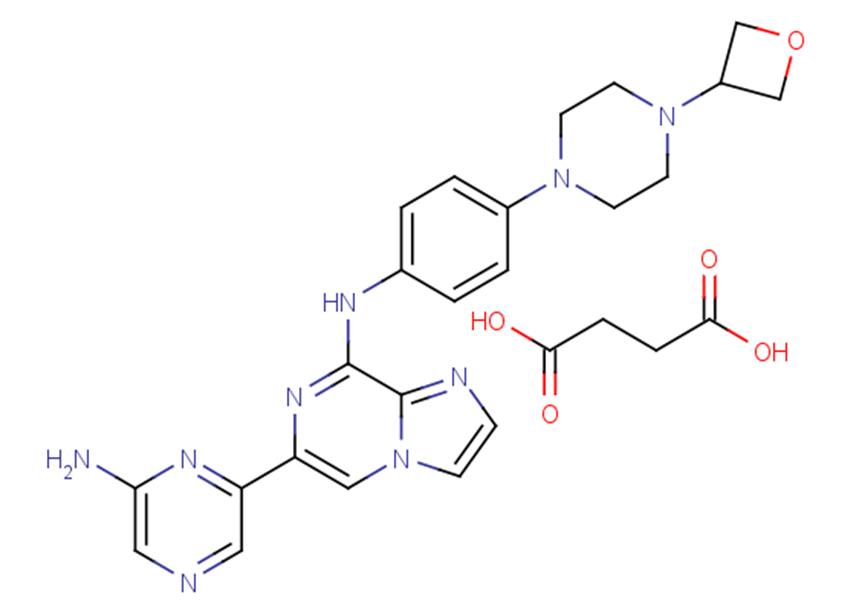 Lanraplenib monosuccinate