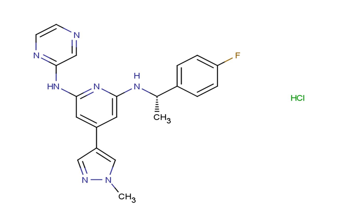 Ilginatinib hydrochloride