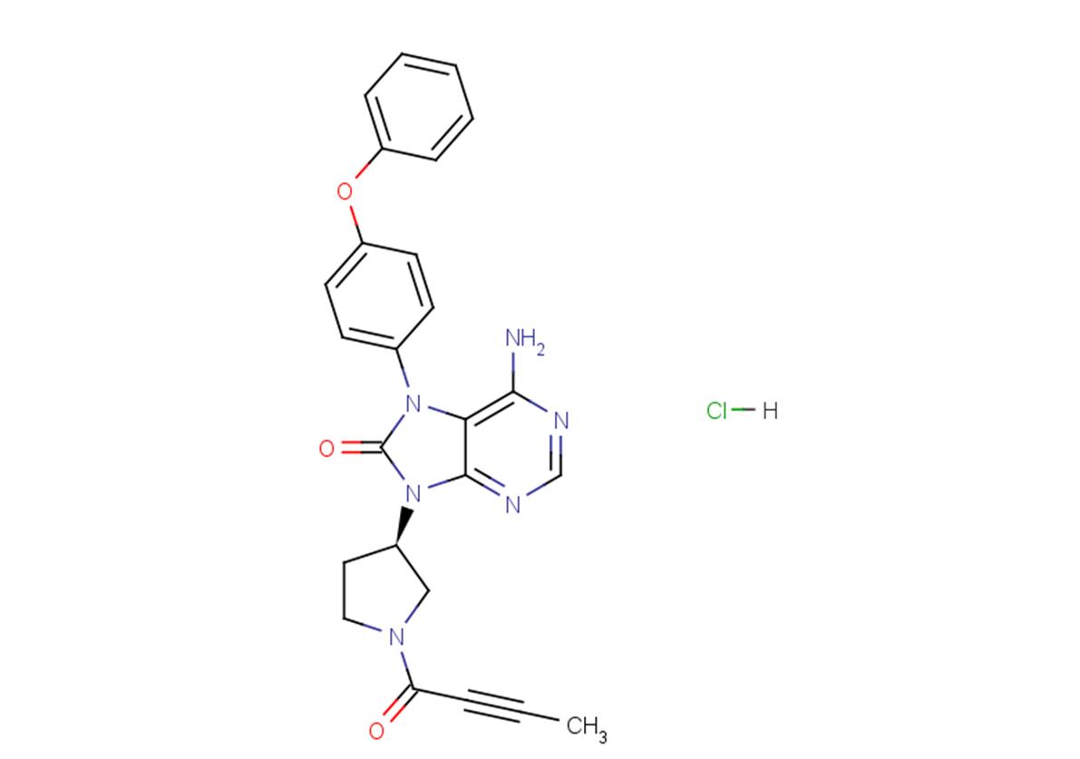 Tirabrutinib hydrochloride