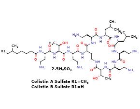 Colistin sulfate (1066-17-7 free base)