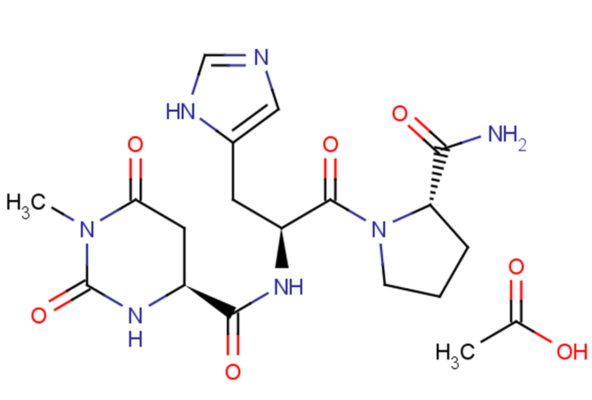 Taltirelin acetate