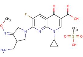 Gemifloxacinmesylate