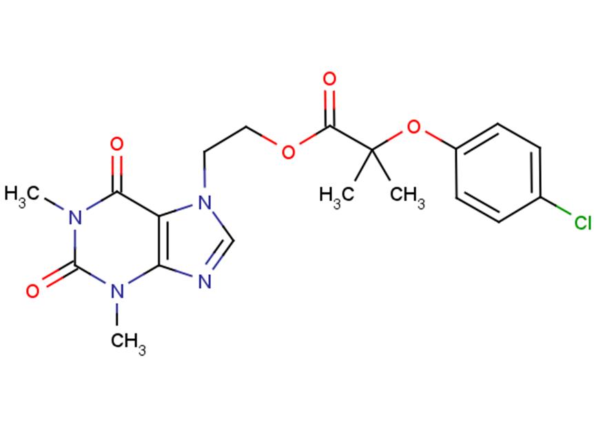 Etofylline clofibrate