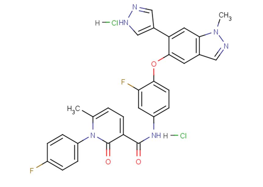 Merestinib dihydrochloride