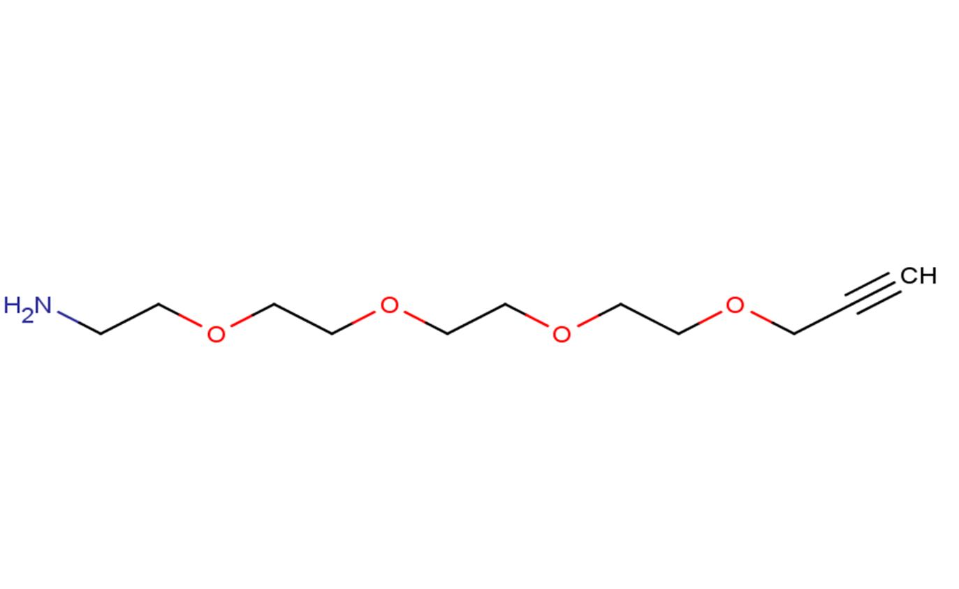 Propargyl-PEG4-amine