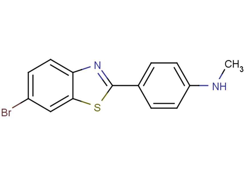 4-(6-Bromo-2-benzothiazolyl)-N-methylbenzenamine