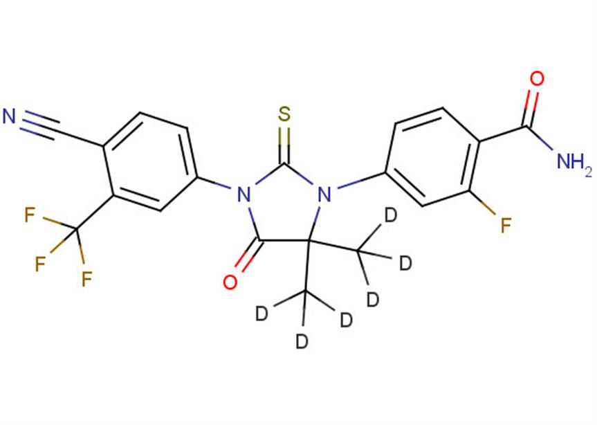 N-desmethyl Enzalutamide D6