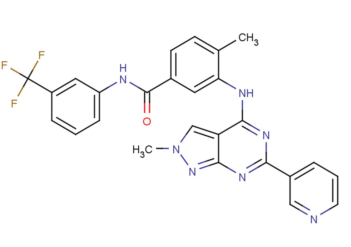 NVP-BHG712 isomer