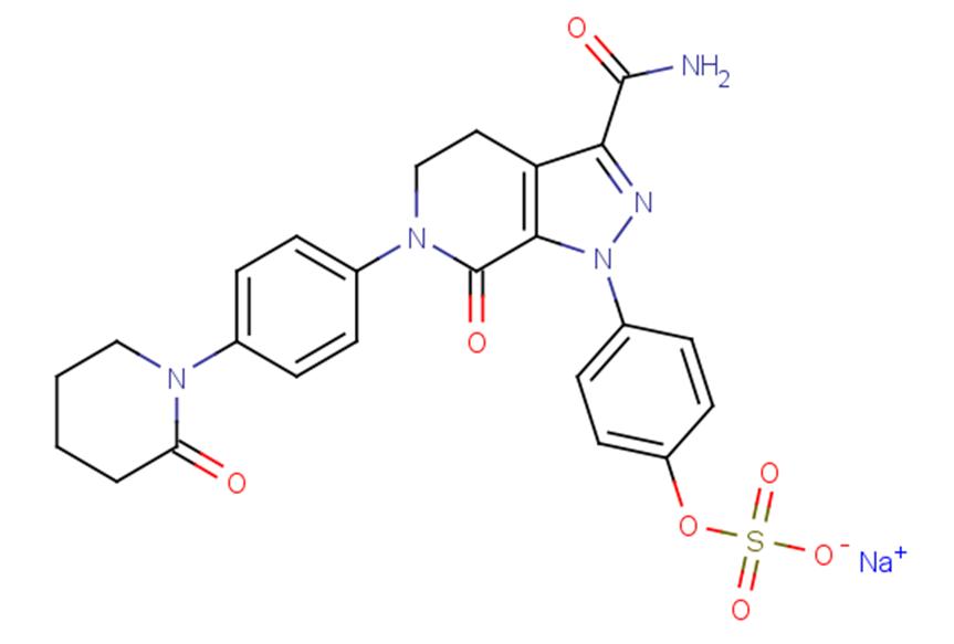 O-Desmethyl apixaban sulfate sodium