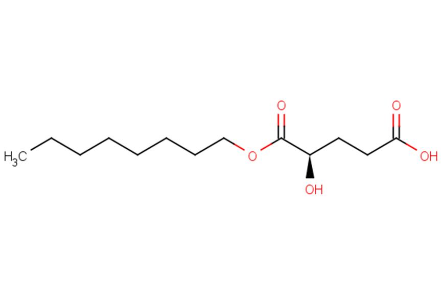 (2R)-Octyl--hydroxyglutarate