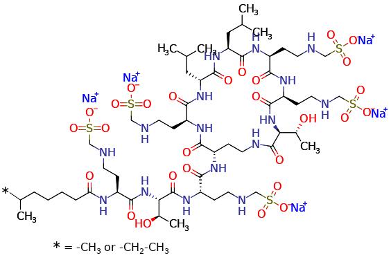 Colistin Methanesulfonate (sodium salt)