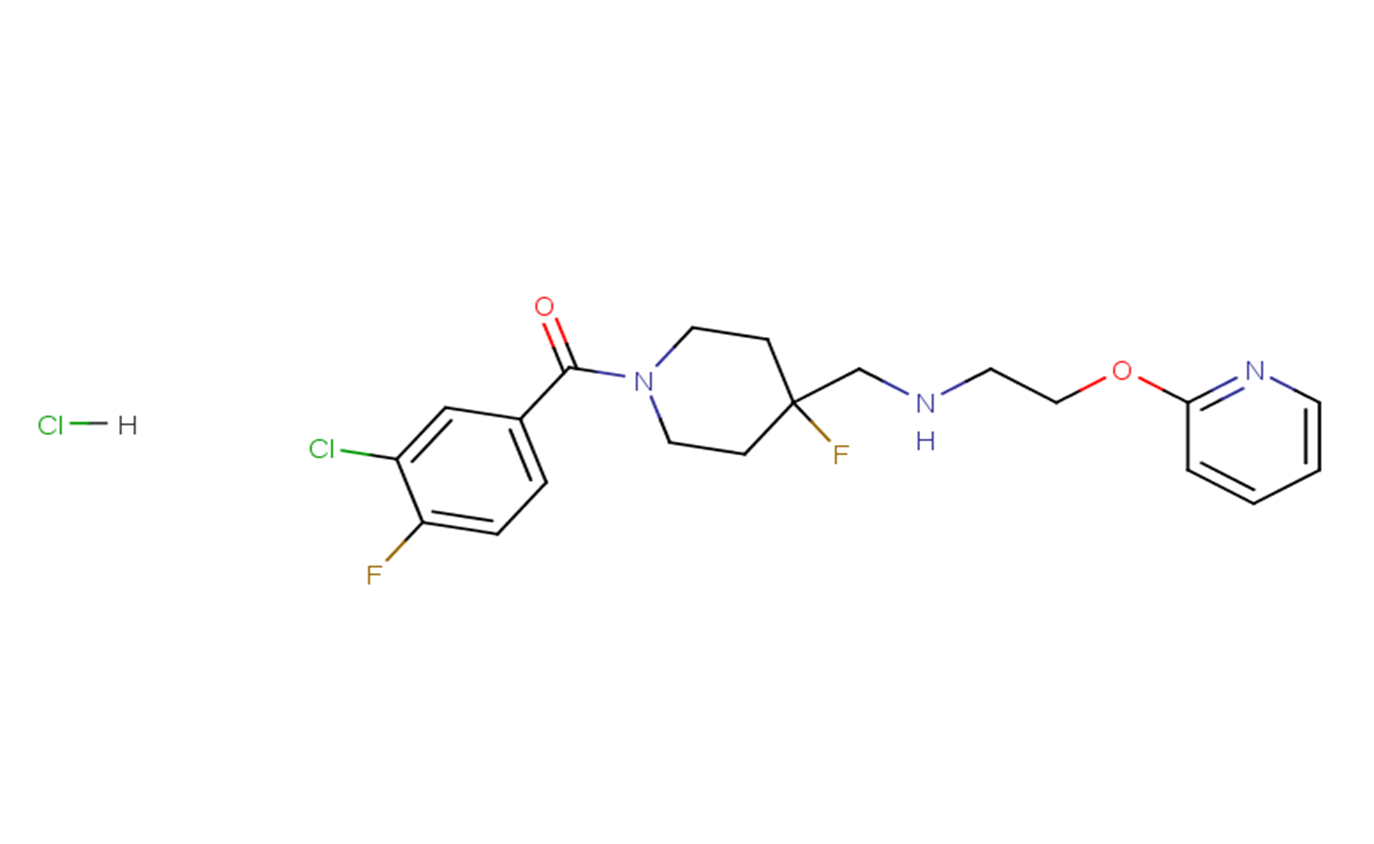 NLX-204 hydrochloride2170405-10-2 free base