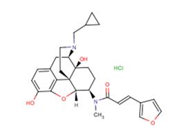 Nalfurafine hydrochloride
