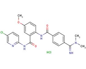 Betrixaban hydrochloride(330942-05-7(free base))