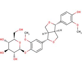 (+)-pinoresinol--D-glucoside; (+)-pinor