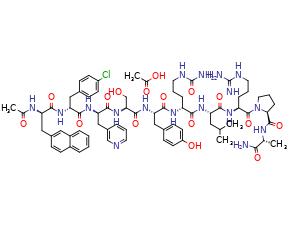 Cetrorelix( x acetate)