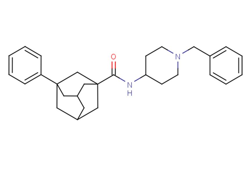 3-Phenyl-N-[1-(phenylmethyl)-4-piperidinyl]-tricyclo[3.3.1.13,7]decane-1-carboxamide