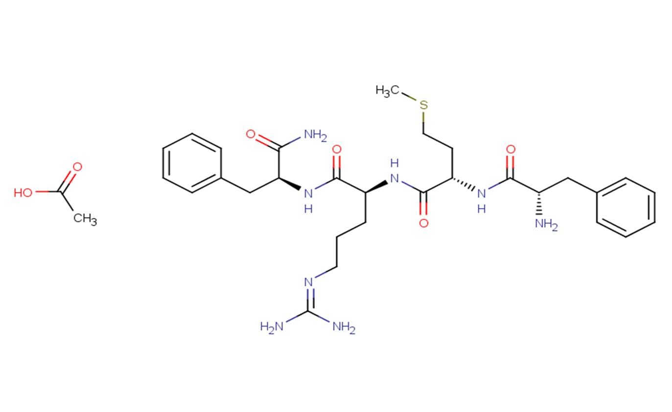 Phe-Met-Arg-Phe, amide acetate(64190-70-1 freebase)