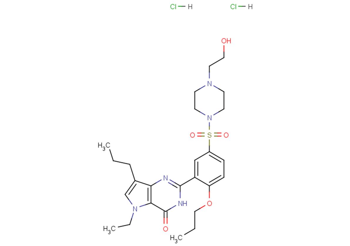 Mirodenafil dihydrochloride