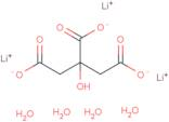 Lithium citrate tribasic tetrahydrate