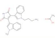 Bisindolylmaleimide VIII acetate