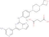 Lanraplenib succinate