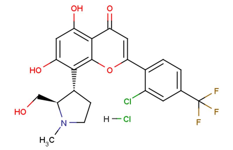 Voruciclib hydrochloride