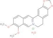 Berberine chloride hydrate