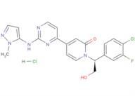 Ravoxertinib hydrochloride
