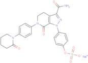 O-Desmethyl apixaban sulfate sodium (503612-76-8 free base)