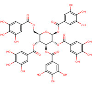1,2,3,4,6-O-Pentagalloylglucose