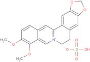 Berberine hydrogen sulphate