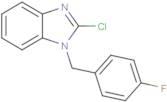 2-Chloro-1-(4-fluorobenzyl)benzimidazole