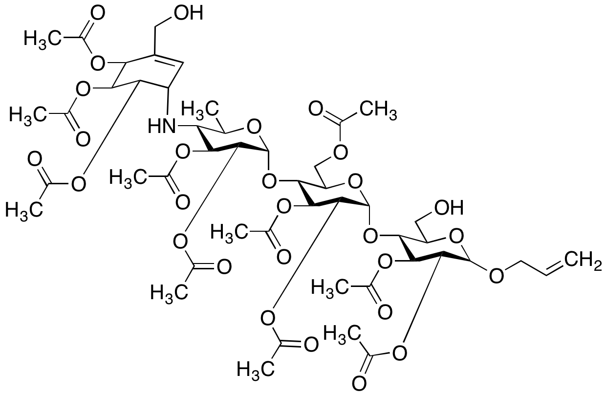 Acarbose O-Allyl Ether Deca-acetate