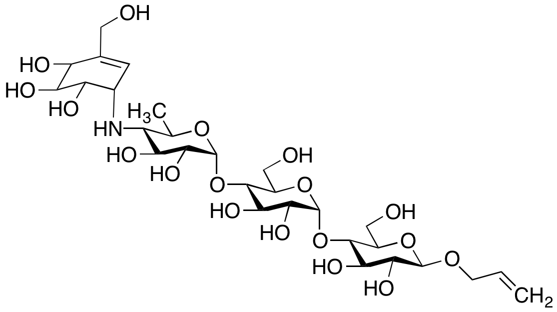 Acarbose O-Allyl Ether