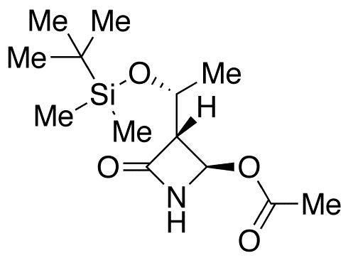 (3R,4R)-4-Acetoxy-3-[(R)-1-(tert-butyldimethylsilyloxy)ethyl]-2-azetidinone
