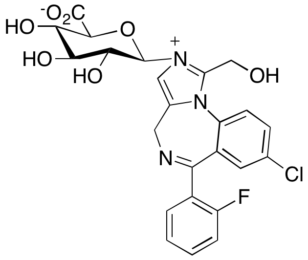 1-Acetoxy Midazolam N2--D-glucuronide