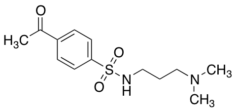 4-Acetyl-N-[3-(dimethylamino)propyl]benzene-1-sulfonamide