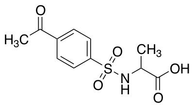 2-(4-Acetylbenzenesulfonamido)propanoic Acid