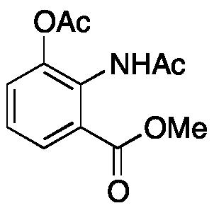 2-Acetamido-3-acetoxybenzoic Acid Methyl Ester