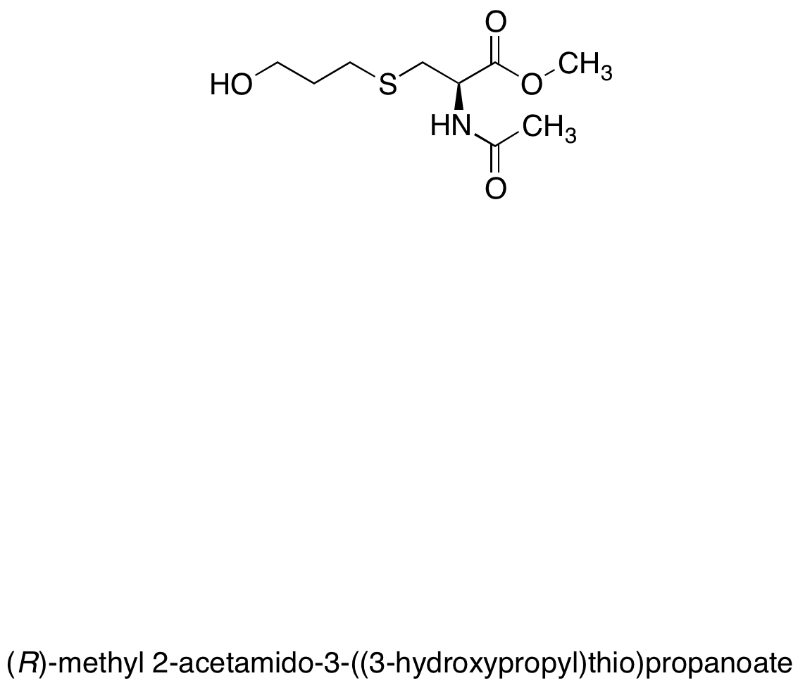 N-Acetyl-S-(3-hydroxypropyl-1-methyl)-L-cysteine