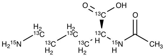 N-Acetyl-L-Lysine-13C6,15N2
