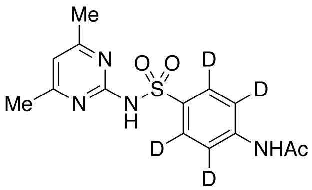 N-Acetyl Sulfamethazine-d4