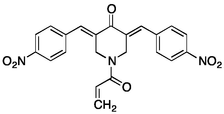 (3E,5E)-1-Acryloyl-3,5-bis(4-nitrobenzylidene)piperidin-4-one