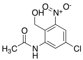 N-Acetyl-5-chloro-3-nitro-2-hydroxymethyl Anilin